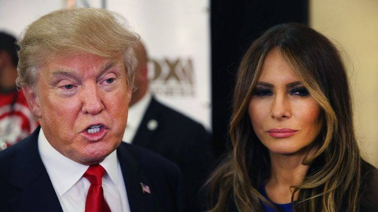 news melania trump filing divorce donald flotus role fake